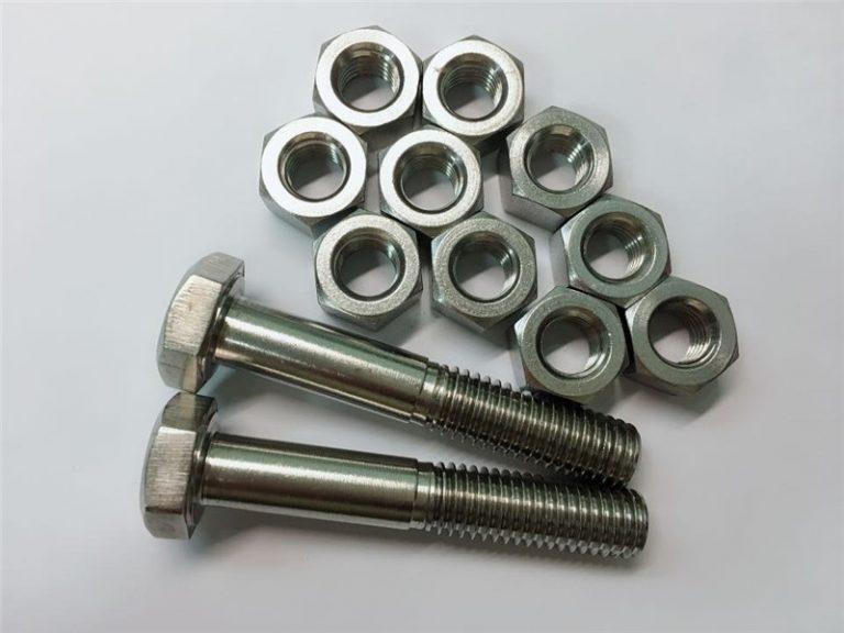 合金20ボルトとナットステンレス鋼ファスナーuns n08020