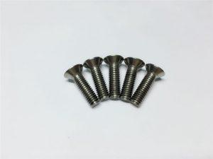 M3、M6チタンネジ脊椎手術用フラットヘッドソケットヘッドキャップチタンフランジネジ