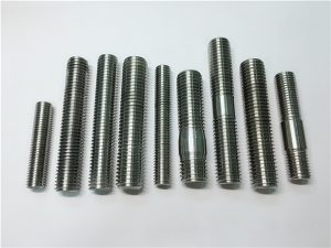 No.104-alloy718 2.4668スレッドロッド、スタッドボルトファスナーDIN975 DIN976
