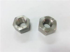 No.108-Manufacturer特殊合金ファスナーハステロイC276ナット