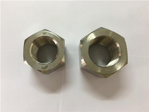 ニッケル合金A453660 1.4980六角ナットを製造