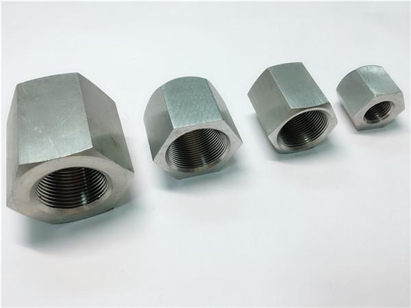 耐久性のあるカスタム加工雌ねじ六角ステンレス鋼ナット