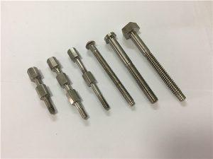 No.41-CNCチタン機械部品のボルトとナット