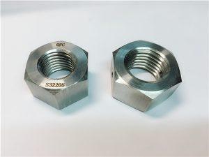 No.76デュプレックス2205 F53 1.4410 S32750ステンレス鋼ファスナー六角ナット