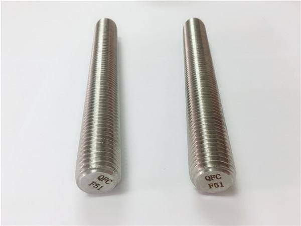 duplex2205 / s32205ステンレス鋼の留め具din975 / din976通された棒f51