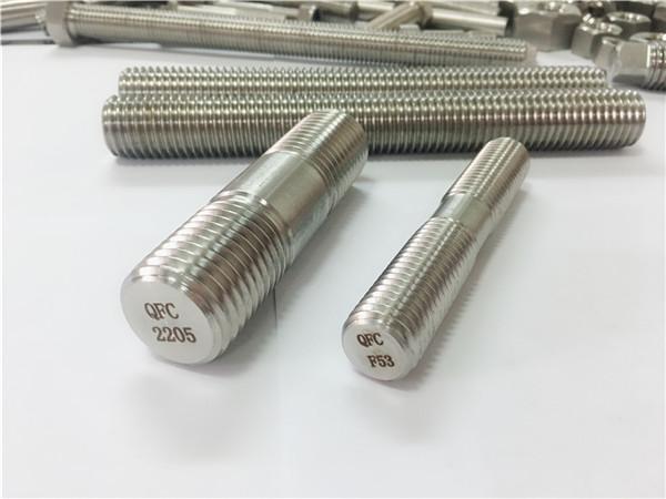 デュプレックス2205 s32205 2507 s32750 1.4410高品質のハードウェアファスナー木製ネジ付きロッドアンカー