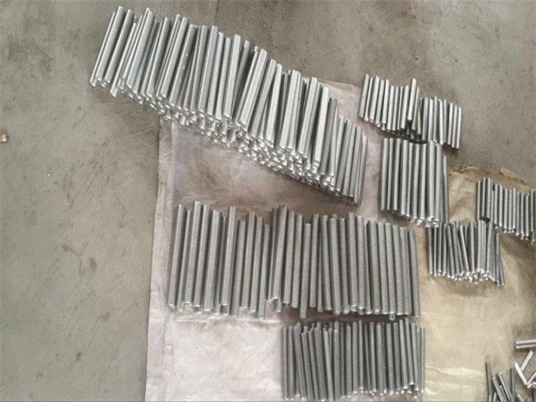 インコネル718625600601タップ六角スタッドボルトおよびナットファスナーM6 M120