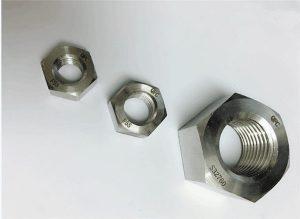 デュプレックス2205 / F55 / 1.4501 / S32760ステンレススチールファスナーヘビー六角ナットM20