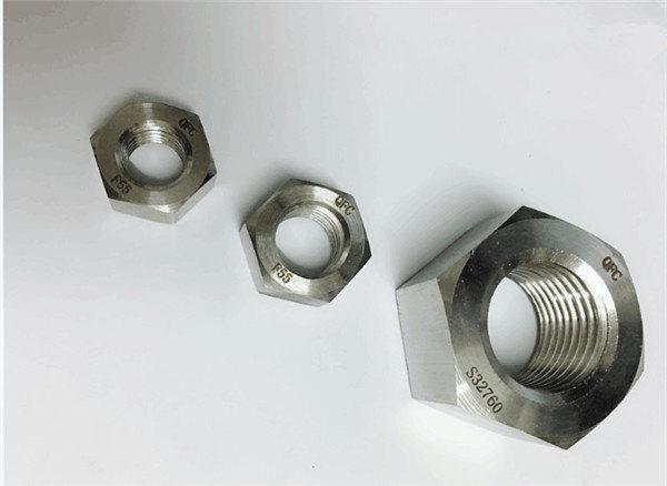 デュプレックス2205 / f55 / 1.4501 / s32760ステンレスファスナー重い六角ナットm20